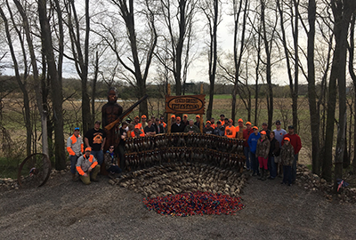 European hunt at Sand Pine Pheasants