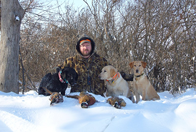 Guided hunt at Sand Pine Pheasants